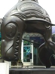 Aboriginal Art - Orca sculpture